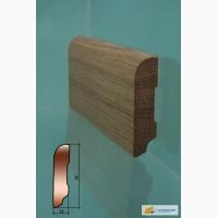 Плинтус деревянный из сосны с сращениями отличного качества