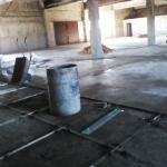 Промышленные полы из мраморной крошки