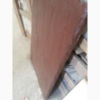 Надежная, импортная натуральная плитка 900*600*30 мм, коричневая