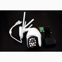 IP WiFi камера C-P11-12 с удаленным доступом уличная 4 антенны + блок питания