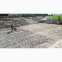 Будівництво під#039;їзних доріг, майданчиків