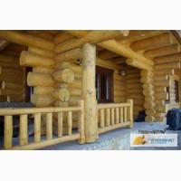 Деревянные дома из оцилиндрованного бревна, бани, срубы