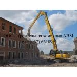 Демонтаж жилых и производственных строений в Киеве