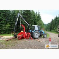 Измельчитель древесины, щеподробилка с манипулятором, цена в Украине