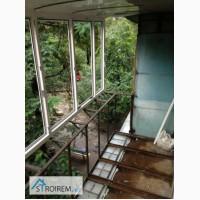 Окна деревянные Панорама установка крыши на балкон