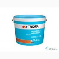 Продам финишную акриловую шпатлевку TRIORA в ведрах по 16 кг