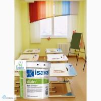 Интерьерная экологически чистая краска ISAVAL Дуин-Экологико 4 л белая