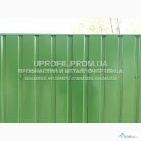 Забор из профнастила, профнастил для забора цветной оцинкованный