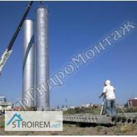 Изготовление водонапорных башен ВБР 160 м3, монтаж и установка Харьков