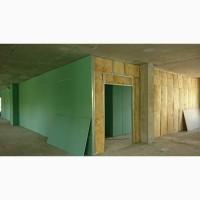 Монтаж гипсокартона от 100 м² в Харькове