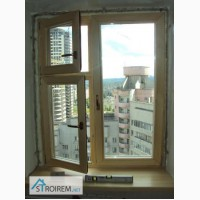Окно деревянное с форточкой за 4200 грн