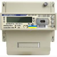 Электросчетчик Энергомера СЕ303-U A R33 трехфазный двухзонный