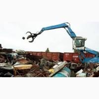 Прием, порезка, демонтаж металлолома