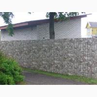 Профнастил в деревню для хоз построек. Крыша и забор из профнастила
