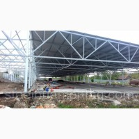 Монтаж металоконструкцій. Будівництво ангарів