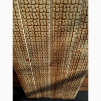 Вагонка с тиснением *ротанговое плетение-15 грн м. п