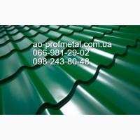 Металлочерепица Монтеррей Зеленного Цвета Мат РАЛ 6005