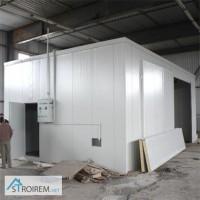 Строительство холодильных камер из сендвич-панелей