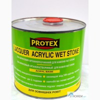 Лак для камня lacaquer Acrylic Wet Stone Protex