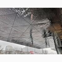 Плавленное Стекло LAVA. Зеркало оплавленное. Новый декор для дизайна