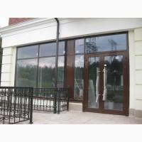 Алюминиевые двери и окна поворотные или раздвижные. Алюминиевые витражи и фасады