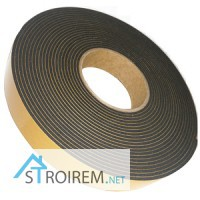 Уплатнительная лента EPDM на основе синтетического каучука. Монтажные ленты