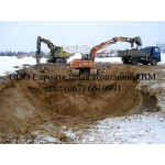 Земляные работы, рытье котлованов и траншей в Киеве
