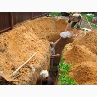 Земельные земляные работы ручная копка круглосуточно Одесса