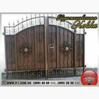 Ворота филенчатые