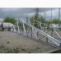 Ферма двухскатная металлическая длина 12, 0 м