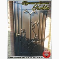 Входные кованные двери, противопожарные, подъездные, художественная ковка