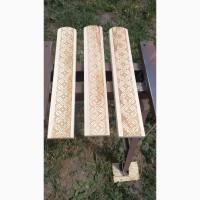 Деревянный штакетник с тиснением 10 грн шт