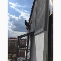 Высотные работы Харьков. Услуги промышленных альпинистов
