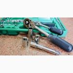 Набор инструментов для авторемонта 1/2 + 1/4 108 единиц