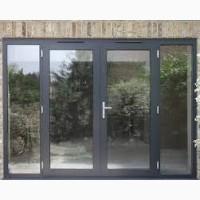 Алюминиевые Двери Для Дома c покраской и надёжными замками