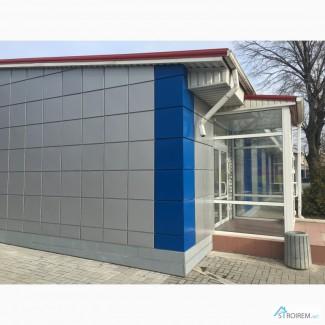 Навесной фасад