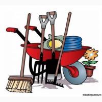 Уборка участка, территории, вывоз мусора, демонтаж, разнорабочие покос травы Одеса