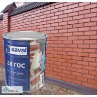 Фасадный прозрачный лак Isaval Иза-Рок 4л под Мокрый Камень на растворителе