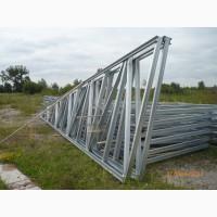Фермы металлические односкатные длина 6, 0 м