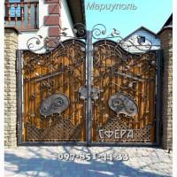 Кованые ворота, распашные, откатные, решетчатые, металлические калитки от производителя