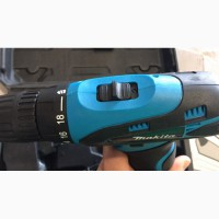 Аккумуляторный Шуруповерт - Дрель MAKITA DF 310D Li 2Батареи 2Скорости Подсветка Кейс ЖМИ