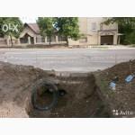 Земляные работы в Херсоне. Выгребная яма из ЖБИ колец или кирпича