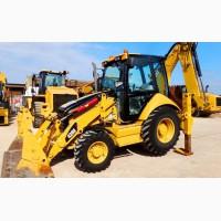 Земляные работы, услуги экскаваторов-погрузчиков CAT