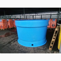 Бассейн для рыбы, раков, емкости для УЗВ - ТМ «Укрхимпласт»