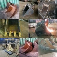 Ремонт, изготовление ковшей на экскаватор, ремонт навесного оборудования