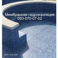 Монтаж бассейна из ПВХ пленки