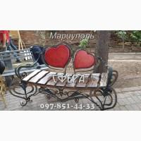 Кованые лавочки, скамейки для сада, кованые изделия от производителя под заказ, цена