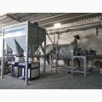 Мини-завод для производства сухих строительных смесей