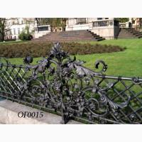 Кованый забор, плот, кованые ограждения