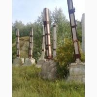 Колоны 30*30 6 метровые бу +стаканы по1, 5м